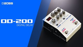 Boss DD-200 Digital Delay Video
