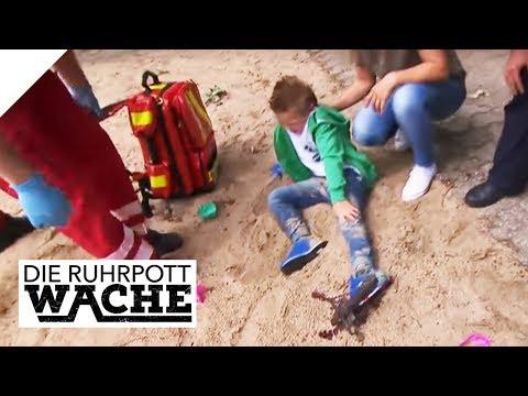 Fuß in Bärenfalle! Wer hat es auf den Jungen (6) abgesehen?   Die Ruhrpottwache   SAT.1 TV (видео)