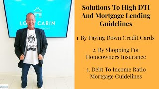 Qualifying For A Mortgage With High DTI