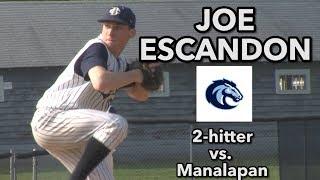 CBA 3 Manalapan 1 | Joe Escandon CG 2 hitter