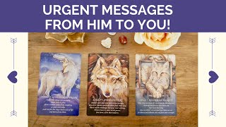 💌 URGENT MESSAGES FROM YOUR LOVE! 💘 PICK A CARD TIMELESS LOVE READING 🔥 TWIN FLAMES  💐 SOULMATES