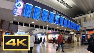 American Airport Walking Tour in 4K: Minneapolis, St. Paul Airport (MSP)