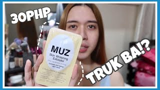 MUZ SKIN WHITENING EXPOLIATOR REVIEW! ( Made in Korea)   || JanaRickaFerde