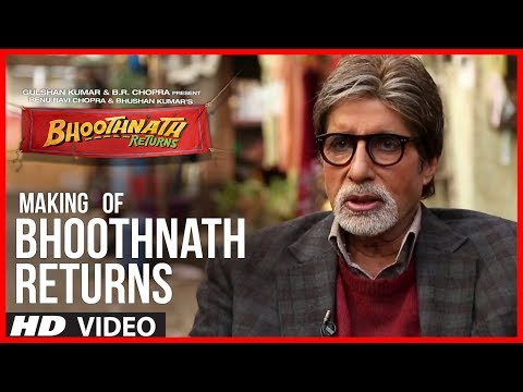 Making Of Bhoothnath Returns   Amitabh Bachchan, Boman Irani, Parth Bhalerao
