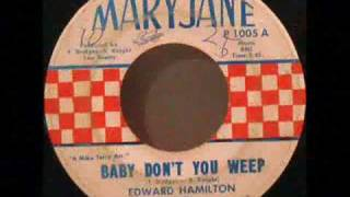 Edward Hamilton And The Arabians - Baby Don't You Weep.wmv