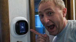 The NEW ecobee Smart Thermostat Full Install