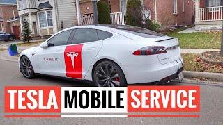 Tesla Model 3 - Tesla Mobile Service