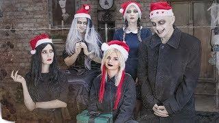 Addams Family Christmas Pranks!