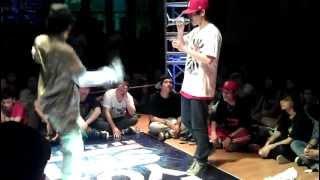NHIỆT HipHop Battle 2012 - Kiên Trần - 1 -8 Round