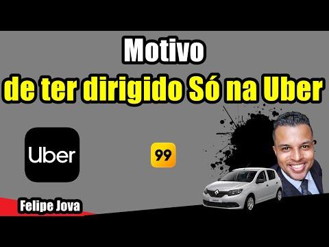 Motivo de ter dirigido só na Uber