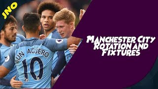 Fantasy Premier League - MAN CItY FIXTURES AND ROTATION - FPL Gameweek 8