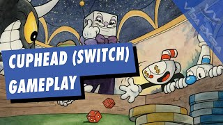 Cuphead - Dos horazas de gameplay en Switch
