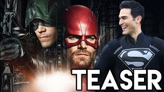 Barry IS GREEN ARROW & Oliver IS THE FLASH! - DCTV Elseworlds Crossover Teaser