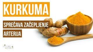 Kurkuma je Prirodni Lek za Sprečavanje Začepljenja Arterija