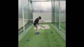 Cricket Drill with a Hockey Stick!