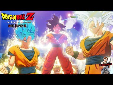 Dragon Ball Z Kakarot - Goku SSJB, Ultra Instinct Incompleto e Ultra Instinct