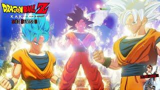 Dragon Ball Z Kakarot - Goku SSJB Ultra Instinct Incompleto e Ultra Instinct