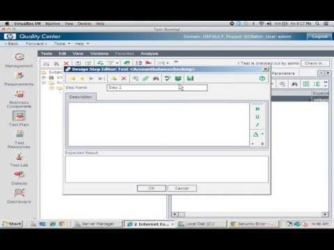 Creating Test Cases in HP Quality Center - YouTube