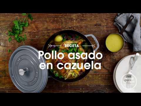 Receta deliciosa - Pollo Eroski NATUR asado en cazuela
