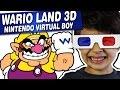 Wario Land 3d Nintendo Virtual Boy Gameplay Comentado E