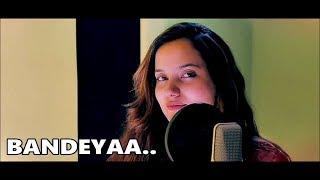 Bandeyaa Aakanksha Sharma   Jazbaa   Lyrics - YouTube