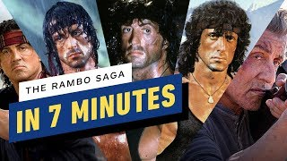 The Rambo Saga in 7 Minutes
