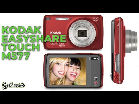 Kodak EasyShare Touch M577 Digital Camera