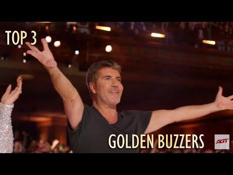 TOP 3 GOLDEN BUZZER America's Got Talent 2019 (видео)