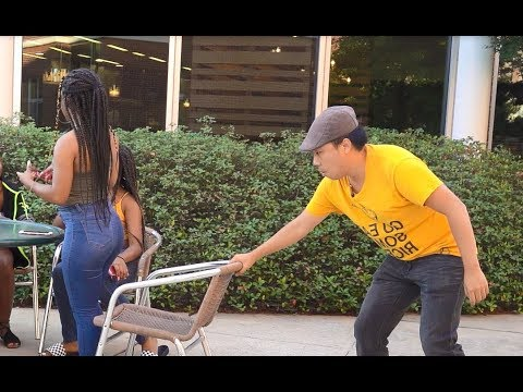Chair Pulling Prank in Charleston!!!