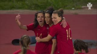 Algarve Cup 2019: Portugal 2 - 1 Suécia (Grupo D, Dia 2)