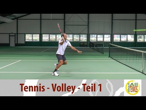 Volley Teil 1 - Tennis Technik - HD