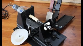 Metal Working Making Dremelathe Small Rotary Tool Powered Lathe Part 2 Workstation Part 3