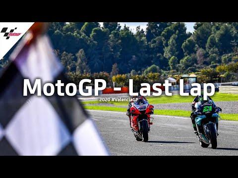 激しすぎるラストラップバトル MotoGP バレンシアGP 最後の1週に全てをかけるラストラップを収めた動画