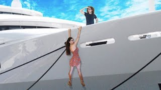 HIDE AND SEEK On A Super Yacht !