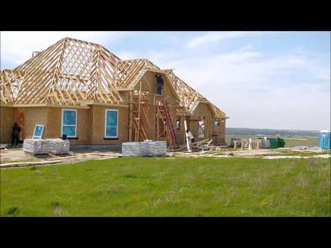 Ev İnşaatının Hızlandırılmış Görüntüleri