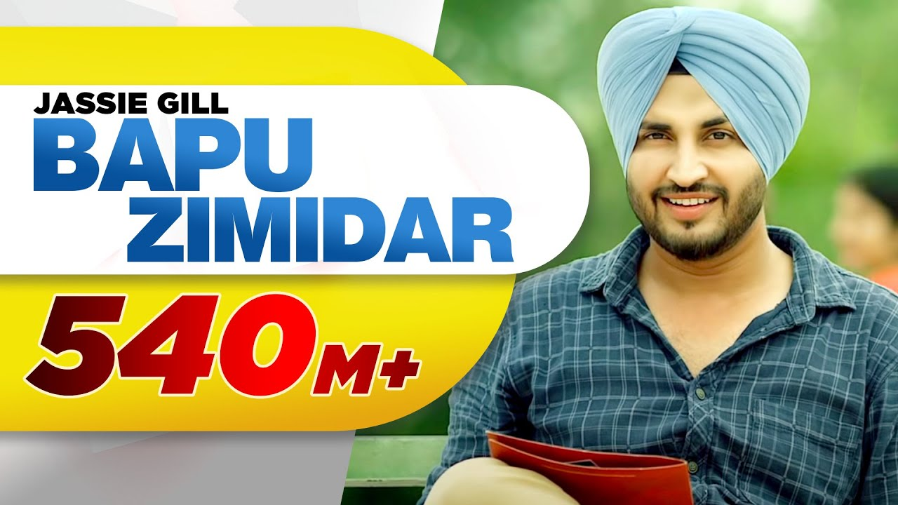 Bapu Zamindar - jassi gill new song