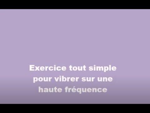 Exercice fréquence vibratoire