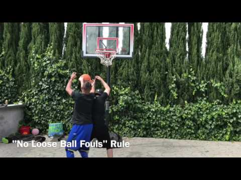 The Unofficial Rules of Pick Up Basketball. | BdotAdot5 (видео)