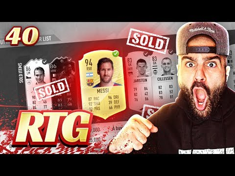 OMG I RAGE SOLD MY TEAM! RIP MESSI! #FIFA20 Ultimate Team Road To Glory #40
