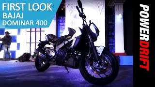 Launch Alert : Bajaj Dominar 400 : PowerDrift