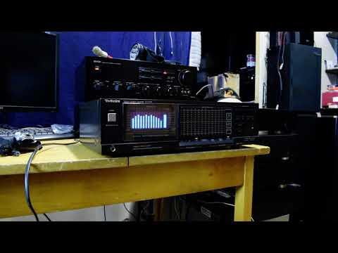 Technics SH8066 Vintage Spectrum Analyzer(Equalizer) szép állapotban hibátlan működéssel