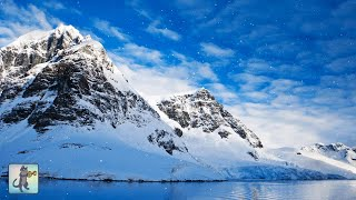 3 HOURS of Beautiful Winter Scenes ~ Amazing Nature Scenery & The Best Relax Music