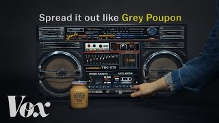 Why rappers love Grey Poupon