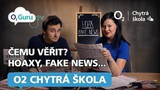 Čemu (ne)věřit na internetu: média, hoaxy, fake news