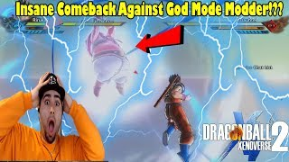 Xenoverse 2 Insane Comeback Against A Modder! Dragon Ball Xenoverse 2 Greatest Comebacks EVER!