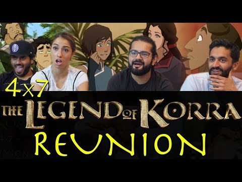 The Legend of Korra - 4x7 Reunion - Group Reaction