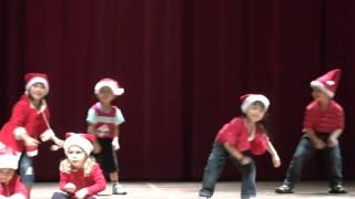 Jingle Bells - Christmas dance song in Chomel's Preschool Concert 2012