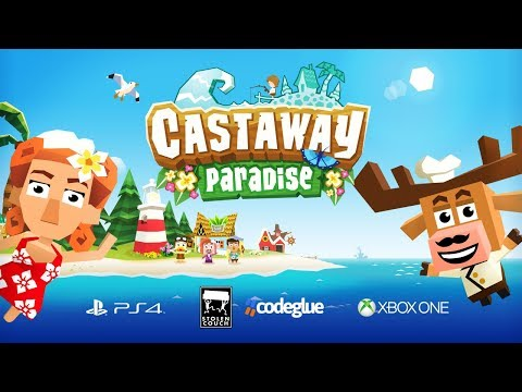 Castaway Paradise - Console Launch Trailer I PS4, Xbox One thumbnail
