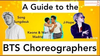 A Guide to the BTS Choreographers (pt. 1)
