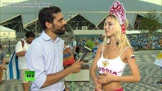 Самая красивая болельщица сборной РФ: Я верю, что мы будем первые